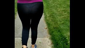Esposa leggings see through thong