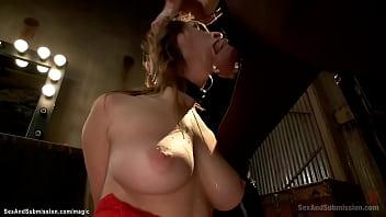 Bound big boobs slut rough banged