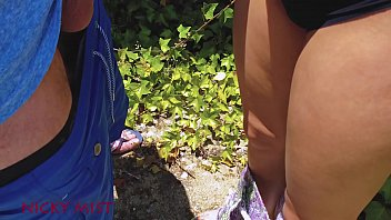 Cumming in panties of my stepsister in the garden Vorschaubild
