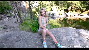 Fucking My Young Blonde Teen Stepdaughter Outdoors On Camping Trip POV 8 min