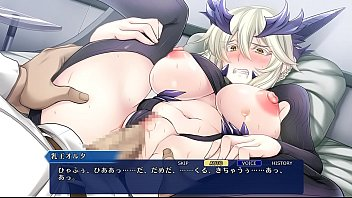 fate grand order mahjong- lancer alter h scene
