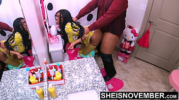 4k 60 fps StepDad Your Hurting Me! Msnovember Black Twat Big Butt Doggysytle Screwing Point Of View, After BDSM Crawling With Hard Nipples And Tittties Exposed. Stepdaughter Fauxcest on Sheisnovember