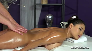 Natural big tits Asian bangs masseur - 69VClub.Com