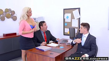 Olivia husseys boobs - Brazzers - big tits at work - the deal breaker scene starring olivia fox and bruce venture