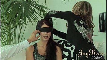 JoyBear Busty milf in her first threesome 12 min