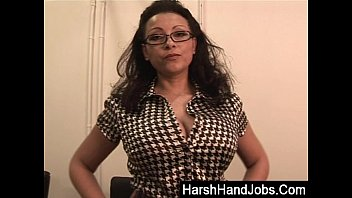 Busty Biology mistress teaches student CBT lesson