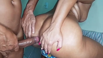 Punishing the ass of the married woman on the stool (complete in Red)