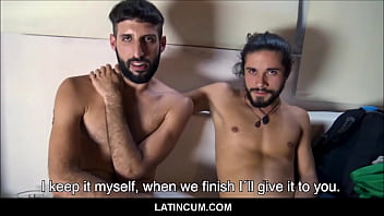 Two Amateur Straight Latino Boy Backpackers Fuck For Extra Cash POV