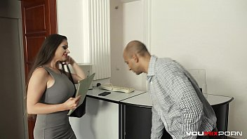 YOUMIXPORN Busty real estate MILF Cathy Heaven fucked in the ass by BBC