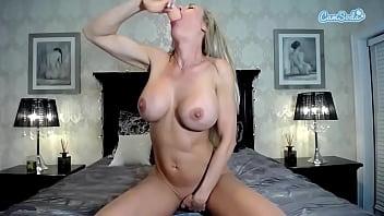 CamSoda – Candice Dare Anal Masturbation and sucks on her Big Dildo