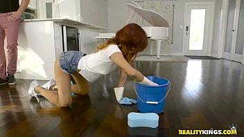 Naked Cleaning Jade Jantzen Kyle Mason