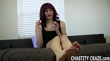 You should be locked in chastity immediately