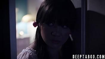 Cute Alison Rey forbidden fucking by her stepdad