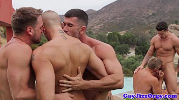 Jessie godderz gay - Athletic gay hunks suck cock in the sun