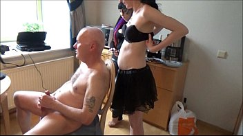 Image: Ulf Larsen punished by two young women
