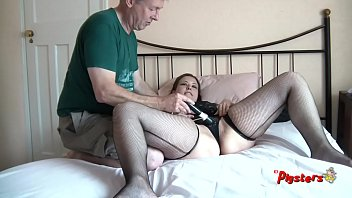 Older Man Makes Horny Voluptuous Coed Orgasm Before Sixty Nine 11 min