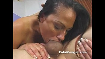 Milf dick Huge boob experienced cougar tittyfucks big dick and gives amazing wet blowjob