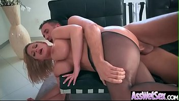 Hard Deep Anal Sex Tape With Big Butt Sexy Horny Girl (Brooklyn Chase) video-13