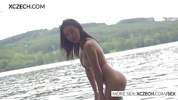Beautiful asian water nymph making erotic swimming - XCZECH.COM 22 min