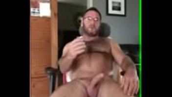 "Sexy hairy bear jerking hot cock <span class=""duration"">5 min</span>"