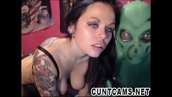 Cosplay Couple Roleplay Aliens on Webcam - More at cuntcams.net