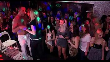 Gangbang Wild Patty At Night Club