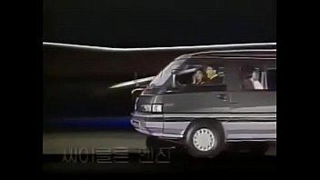 韩国现代面包车广告