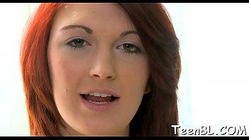 Streaming Video Cheerful teen maiden enjoys sex action - XLXX.video