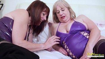 OldNannY British Matures Lesbian Tits and Pussy thumbnail
