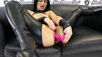 John homes anal porn - Chubby cedrick dildo fucking roxee coutures tight, young, wet pussy
