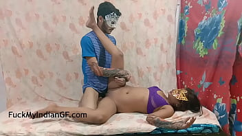 College Sex With Hot Indian Girl 10 Min