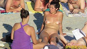 Voyeur Amateur Nude Beach MILFs Hidden Cam Close Up preview image