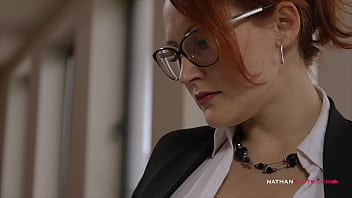 Busty Euro Babes Martina Gold & Ema Russo Get Dirty At Work And Make Each Other Come Multiple Times
