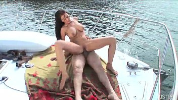 Dick anthony Anthony whips his dick out on the deck of a yacht and gets alexis to suck it and