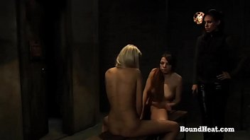Disappeared On Arrival 2: Two Bound Lesbian Slaves Whipped By Merciless Madame
