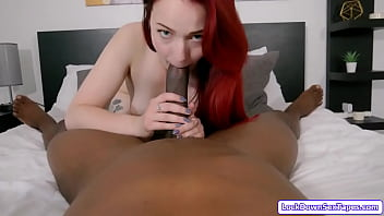 Redhead is fucked by her black roommate Porno indir