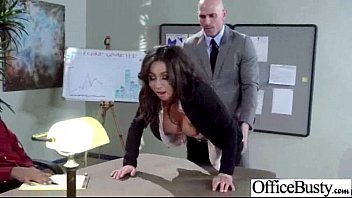 Sex In Office With Big Round Tits Naughty Hot Girl (stephani moretti) movie-30