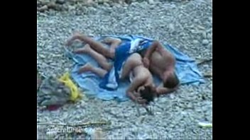 Voyeur sex on the beach video