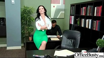 Office worker fucked - Big tits nasty worker girl get wild and bang in office video-17