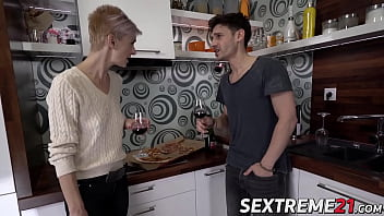 Fit mature babe seduces young stud into hardcore sex 6 min