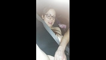 Ametuer homemade masturbate - This bitches pussy purrin on the way home from our first sex club live show.