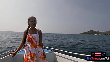 Rented A Boat For A Day And Had Sex On It With His Asian Teen Girlfriend