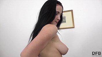 Nicole Big Natural Tits Babe Fucked Hardcore in Interracial Porn