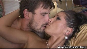 Hot Angel Dark shows off her sexy ass and lovely pussy and gets fucked