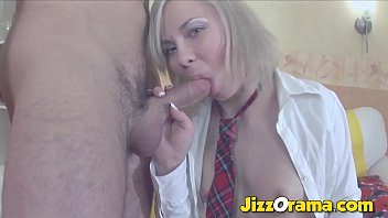 JizzOrama - Rough Anal & Pussy Pumping for School Student