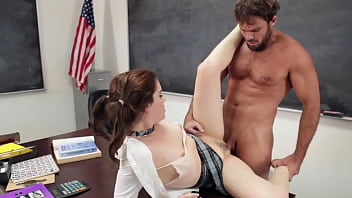 Student is asking for a grade her math teacher