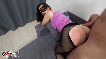 Extremely long cock in pussy Brunette blowjob dick and double anal penetration