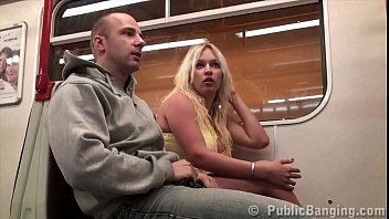 Free amueter public sex videos Big tits star stella fox fucked on a public subway train by 2 guys with big dick