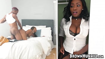 Stunning Ebony Babes Chanell Heart And Osa Lovely Share Bbc