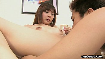 Lovely Japanese housewife loves having her hairy pussy boned hard thumbnail
